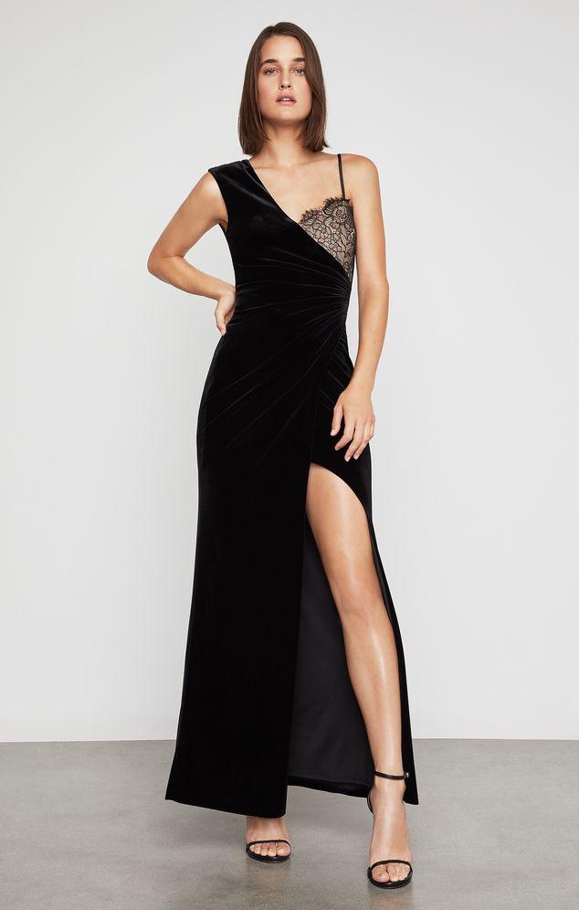 Vestido-De-Velvet-Con-Recorte-De-Encaje-GFH65P02_001